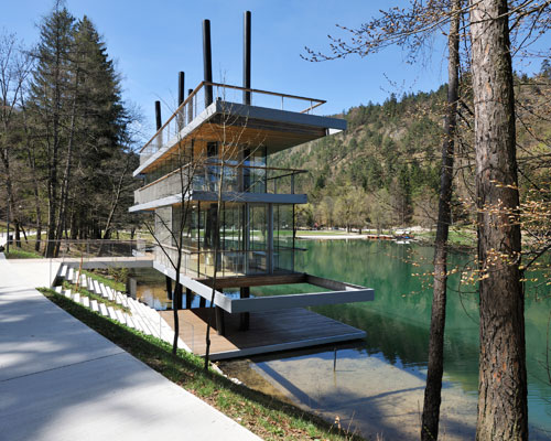 Kajzelj arhitektura, gorska, javna, krajinska, poslovna in stanovanjska arhitektura